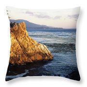 Lone Cypress Tree Throw Pillow by Michael Howell - Printscapes