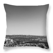 Lone Tree Throw Pillow by Chad Dutson