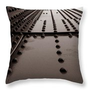 Looking Up Or Looking Down Throw Pillow by Joseph G Holland