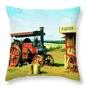 Lord Fisher Throw Pillow by Dominic Piperata