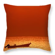 Lost Throw Pillow by Charles Dobbs