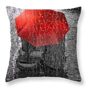 Love Throw Pillow by Mo T