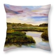 Low Country Throw Pillow by Phil Burton