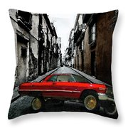 Low Rider Throw Pillow by Monday Beam