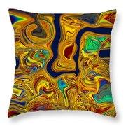 LSD Throw Pillow by Omaste Witkowski