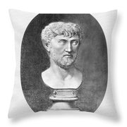 Lucretius (96 B.c.?-55 B.c.) Throw Pillow by Granger