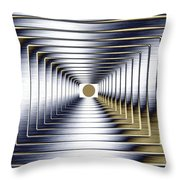 Luminous Energy 1 Throw Pillow by Will Borden