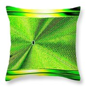 Luminous Energy 14 Throw Pillow by Will Borden
