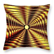 Luminous Energy 2 Throw Pillow by Will Borden