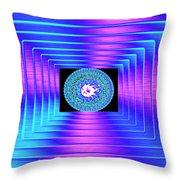 Luminous Energy 9 Throw Pillow by Will Borden