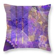 Lunar Impressions 2 Throw Pillow by John Robert Beck