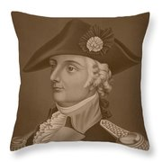 Mad Anthony Wayne Throw Pillow by War Is Hell Store