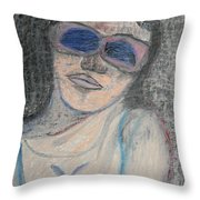Maine Woman Throw Pillow by Marwan George Khoury