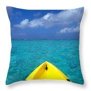Mariana Islands, Saipan Throw Pillow by Greg Vaughn - Printscapes