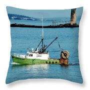 Maritime Throw Pillow by Greg Fortier