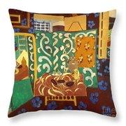 Matisse Interior 1911 Throw Pillow by Granger