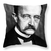 Max Planck  Throw Pillow by Granger