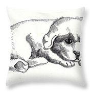 Maya 1 Throw Pillow by John Keaton
