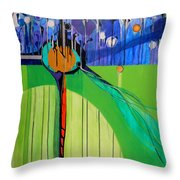 Mazal Tov  Throw Pillow by Marlene Burns