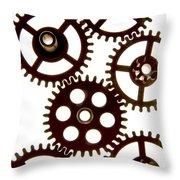 Mechanism Throw Pillow by BERNARD JAUBERT