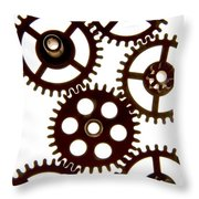 Mechanism Throw Pillow by Bernard Jaubert