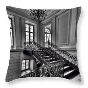 Meet Me Half Way Throw Pillow by Evelina Kremsdorf