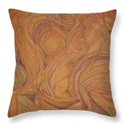 Meta Throw Pillow by Caroline Czelatko