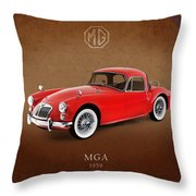 Mga 1959 Throw Pillow by Mark Rogan