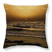 Miami Sunrise Throw Pillow by Gary Dean Mercer Clark