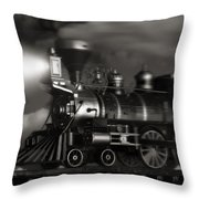 Midnight Flyer Throw Pillow by Tom Mc Nemar