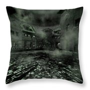Midnight Ramblings Throw Pillow by Mimulux patricia no