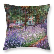 Monet: Giverny, 1900 Throw Pillow by Granger