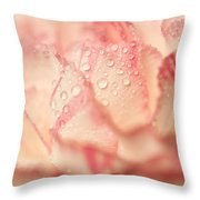 Moning Freshness. Natural Watercolor. Touch Of Japanese Style Throw Pillow by Jenny Rainbow