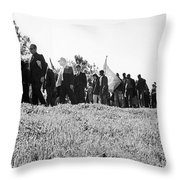 Montgomery March, 1965 Throw Pillow by Granger