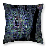 Moonlight Shadow Throw Pillow by Mimulux patricia no