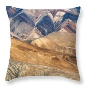 Mountain Abstract 4 Throw Pillow by Hitendra SINKAR