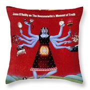 Ms. Magazine, 1972 Throw Pillow by Granger