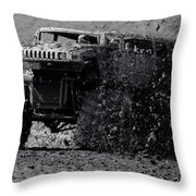 Mudder Throw Pillow by Robert Frederick