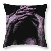 Museful Throw Pillow by Richard Young