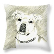 My Bella Throw Pillow by Joette Snyder