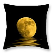My Harvest Moon Throw Pillow by Lynn Andrews