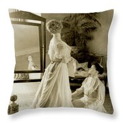 My Lady Daisy Throw Pillow by DigiArt Diaries by Vicky B Fuller