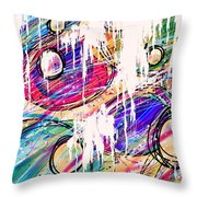 Narcotics Of The Mind Throw Pillow by Rachel Christine Nowicki