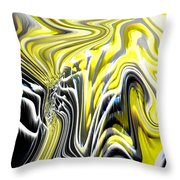 Natures Release Throw Pillow by Tim Allen