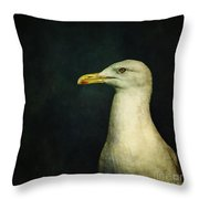 Naujaq Throw Pillow by Priska Wettstein