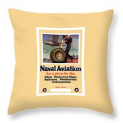 Naval Aviation Has A Place For You Throw Pillow by War Is Hell Store