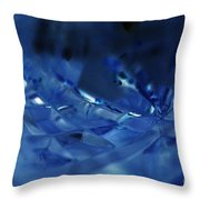 Neverending Relfection Throw Pillow by Amanda Barcon