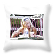 New Diet Throw Pillow by Brian Wallace
