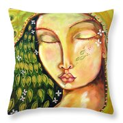 New Life Throw Pillow by Shiloh Sophia McCloud