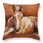 New Paint Throw Pillow by JQ Licensing